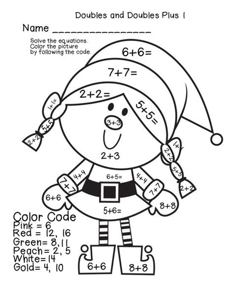 christmas coloring pages for math math color by number worksheets homeschooldressage com