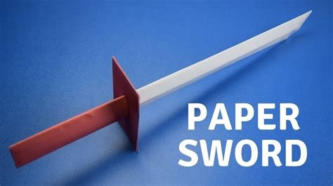 How To Make A Paper Samurai Sword - how to make a paper samurai sword easy tutorial diy