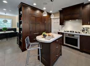 Kitchen With Small Island by Kitchen Island Design Ideas With Seating Smart Tables