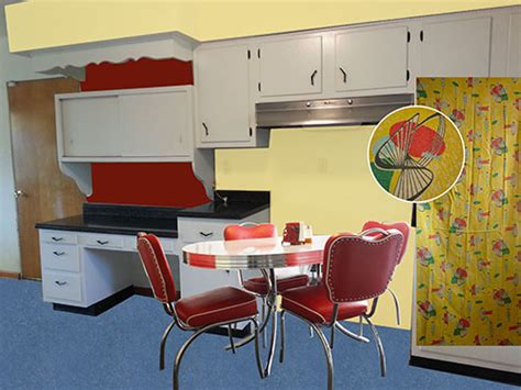 yellow and red kitchen ideas kitchen design and decorating ideas for a vintage black