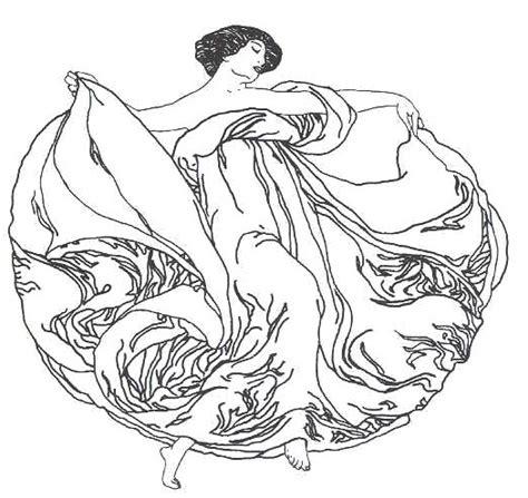 printable art nouveau designs art nouveau designs coloring pages