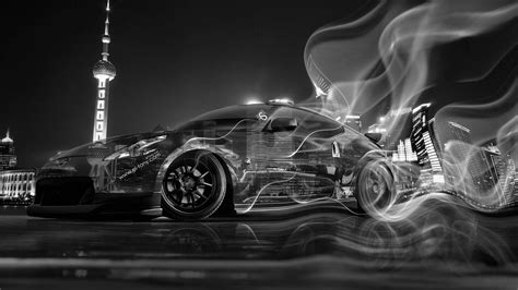 nissan 370z drift wallpaper nissan 370z jdm crystal city smoke drift car 2014 el tony