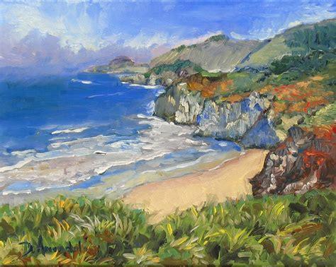 coast landscape painting california