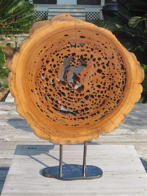 pecky cypress sculpture  natural creations  john