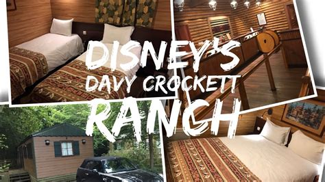 davy crockett ranch premium cabin disney s davy crockett ranch disneyland pioneer