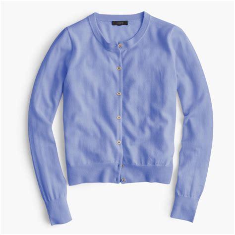 Sweater Converse 2 Abu Mistyhoodie j crew lightweight wool jackie cardigan sweater in blue lyst