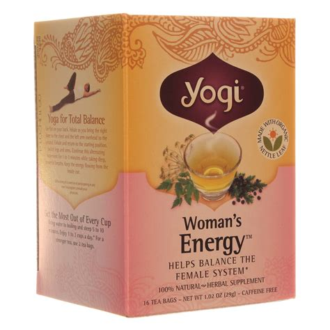 Yogi Detox Tea Canada by Yogi Tea Organic Teas S Energy Tea 16 Bags Fast