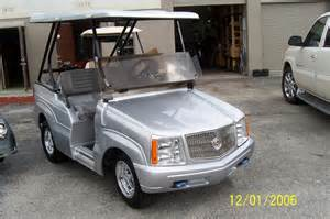 Cadillac Escalade Golf Cart Golf Car Discounters Inc Davie Fl 33317 954 318 3880