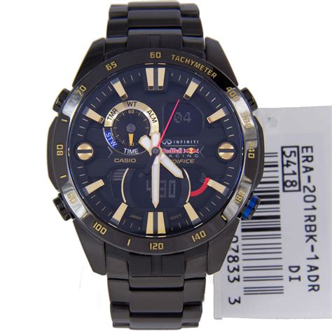 Promo Casio Edifice Era 201rbk 1a casio edifice infiniti bull racing era 201rbk 1a era201rbk
