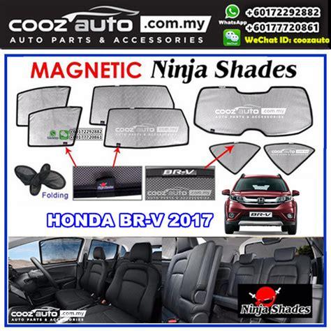 Sun Protector Shade Visor Canopy Unit Honda Jazz 2015 honda brv br v 2016 magnetic sun shade sunshade