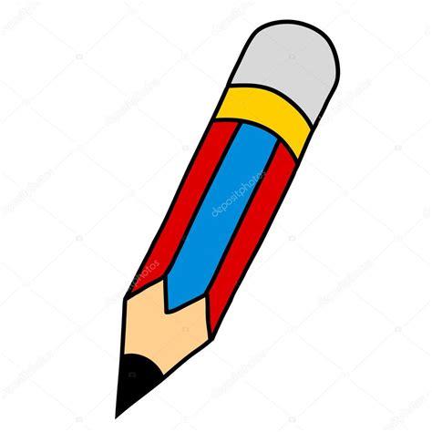 imagenes animadas jpg l 225 piz de dibujos animados de la escritura a mano vector
