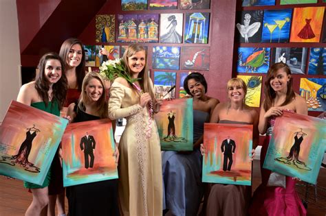 paint with a twist s day best bachelorette ideas for the philadelphia