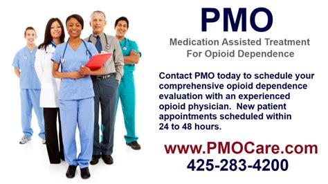 Opioid Detox Doctors by Pmo In Bellevue Wa Hires Dr Fina A Board Certified