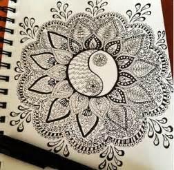 draw doodle free zentangle beautiful mandala