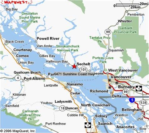 map canada bc map and directions to our oceanfront suite accommodations