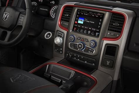 2015 Ram 1500 Rebel Crew Cab 4x4 interior   The Fast Lane