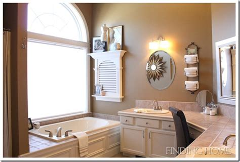 how to decorate a master bathroom our home finding home farms