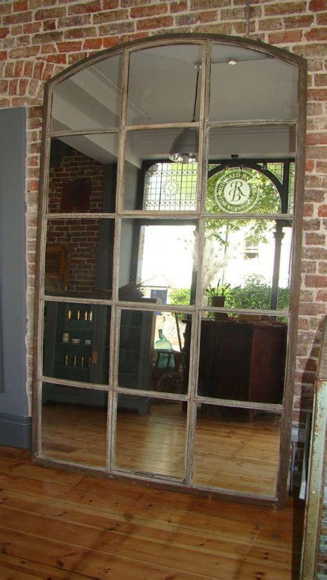 Distressed Farmhouse Floor Mirror For Sale - best 25 window mirror ideas on cottage framed