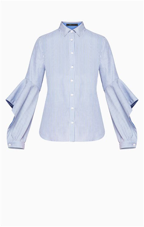 Sleeve Ruffled Shirt thelma ruffled sleeve shirt