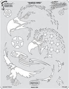 Airbrush Stencil Template by Eagle One Patriotica Craig Fraser Airbrush Stencil