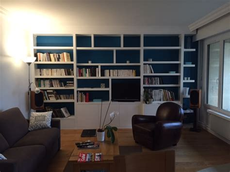 Meuble Tv Avec Bibliothèque by Bibliotheque Et Meuble Tv Sur Mesure Solutions Pour La