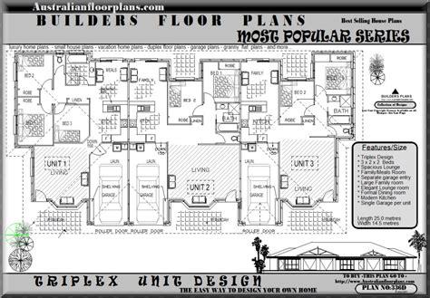triplex house plans triplex home plans 171 home plans home design