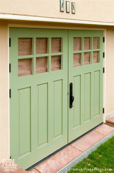 real carriage doors closeup b rooms garages