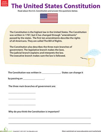 free printable us constitution worksheets learn about the u s constitution worksheets social
