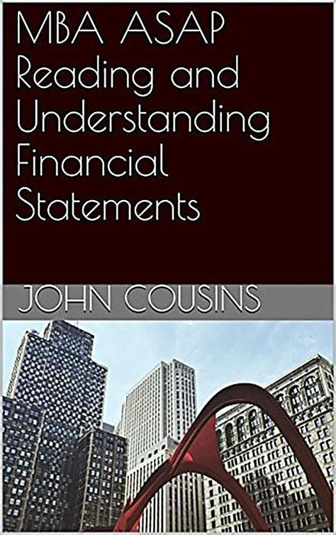 Mba Asap by Mba Asap Reading And Understanding Financial Statements
