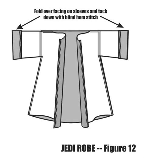 free pattern jedi cloak 7 best pdf patterns images on pinterest pattern sewing
