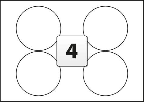 4 round labels per sra3 sheet 140 mm diameter flexi labels