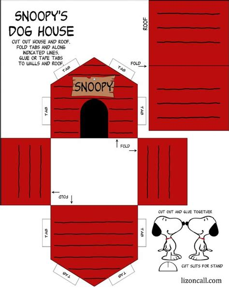 printable dog house best ideas about snoopy paper snoopy diy and snoopy xmas