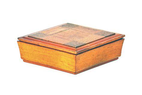 vintage handmade wood box mecox gardens