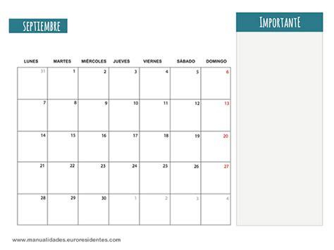 Calendario Mes De Septiembre 2015 Dibujos Para Colorear Calendario Septiembre 2015