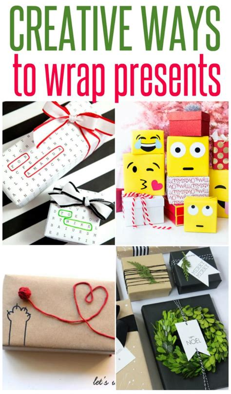 creative ways to wrap christmas gifts 5 creative ways to wrap presents infarrantly creative