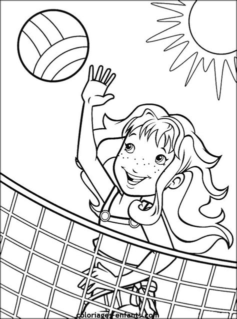 volleyball coloring pages pdf coloring activity pages girl playing beach volleyball