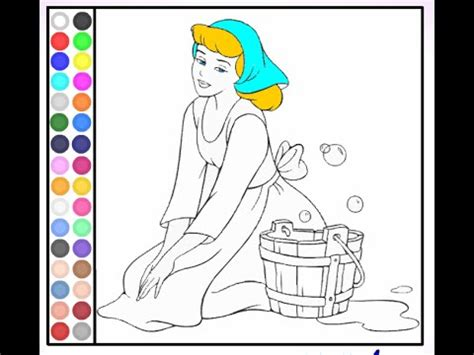 barbie coloring pages youtube cinderella coloring pages coloring pages for girls youtube
