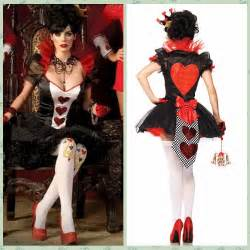 Costume queen of hearts poker las vegas casino king fitted dress