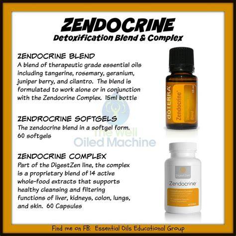 Doterra Endocrine Detox Blend Soft Gel by 1000 Images About Essential Zendocrine Blend On