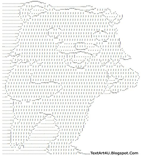 Ascii Art Meme - pedobear ascii text art cool ascii text art 4 u
