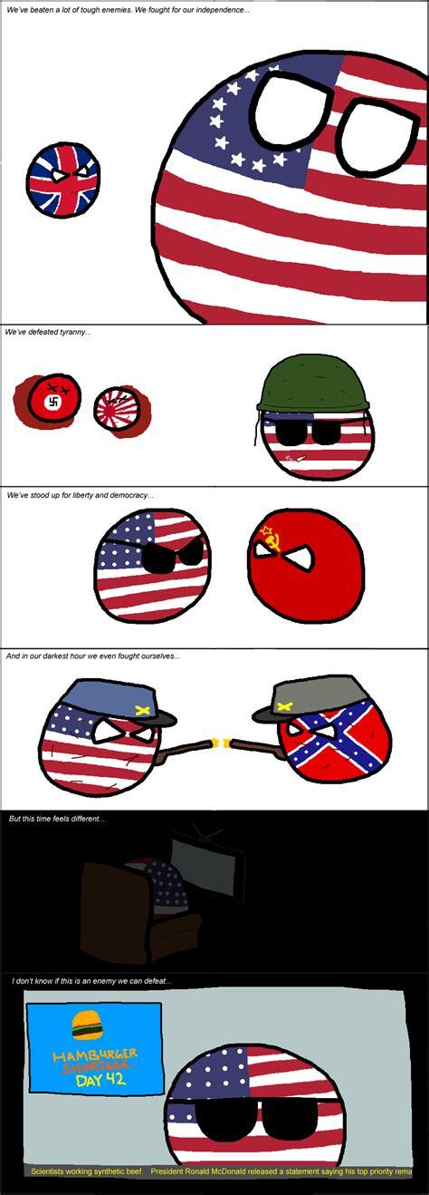 Tumbleweed America S Greatest Enemy Polandball