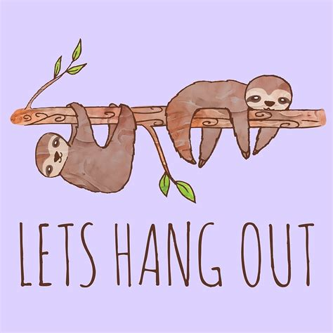 Sloth Drawing Easy