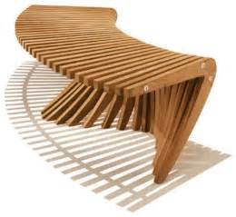 Bombay Bench Windsong Curved Backless Bench