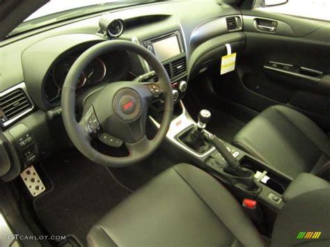 wrx carbon black interior 2012 subaru impreza wrx sti