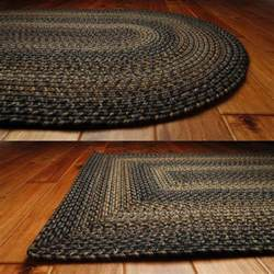 indoor outdoor black forest braided rug oval rectangle 20