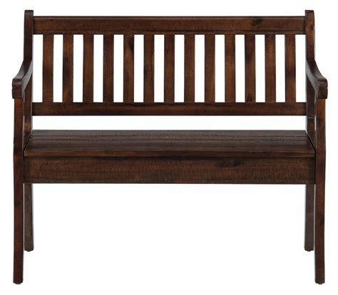 morris bench pacific lane storage bench with slat back morris home