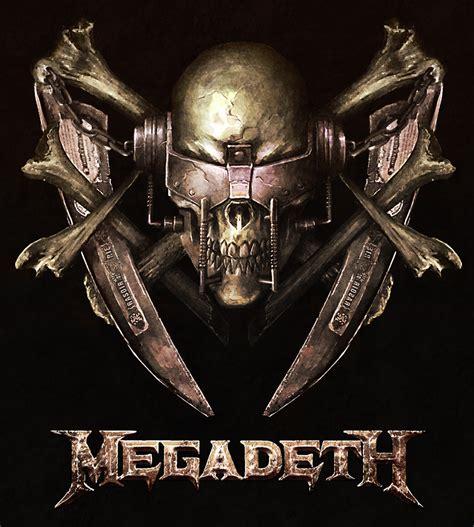 Kaos Band Metal Megadeth Mega7 anger megadeth