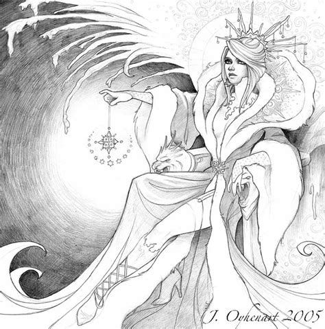 ice queen coloring page the ice queen nekro by jessibeans on deviantart