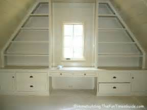 Writing Desk With Bookcase Built In Bookshelves Add A Quality Touch To Custom Homes