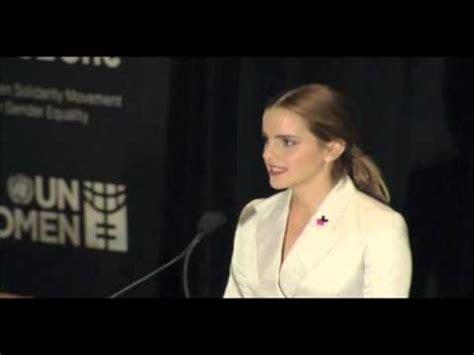 emma watson feminism speech emma watson heforshe speech at the united nations un